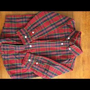 18-24mo Gymboree button sown shirt.